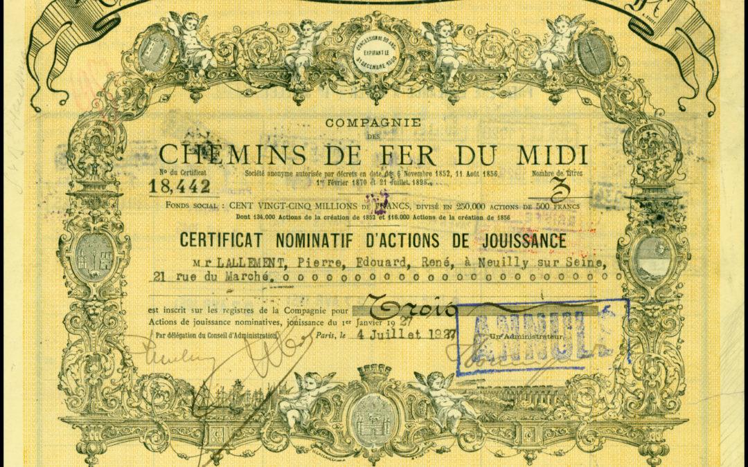 La SNCF à l'Aven Armand